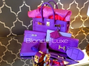 UltraViolet alligator constance and Parme, Lilas accessories